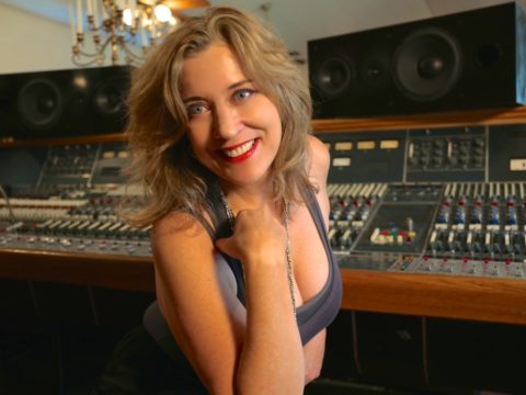SylviaMassy - 2015 in the studio